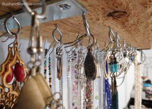 Jewelry Clutter - Organizing Earrings