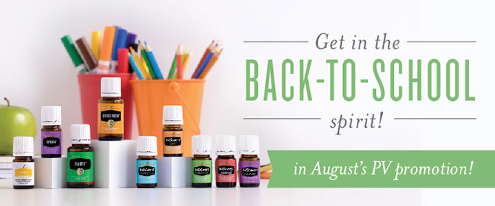 Young Living Essential Oils August PV Promo | Rush & Ramble