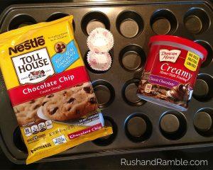 Cookie Cupcake Ingredients   Rush & Ramble