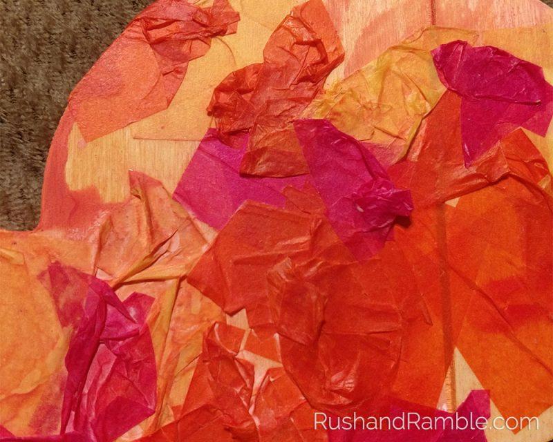 Tissue Paper Rabbit   Rush & Ramble