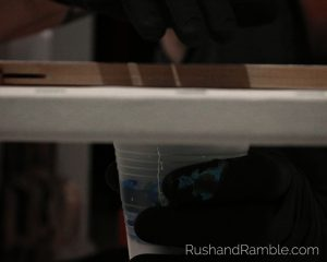 Dirty Pour Flip Cup - Acrylic Pour Fluid Painting for Beginners - Rush & Ramble DIY