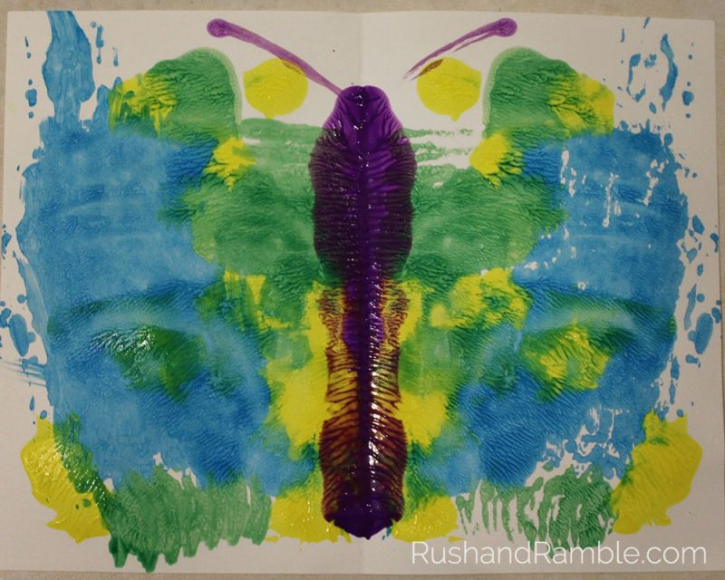 Butterfly Painting   Milkweed, Monarchs and Masterpieces: The Tale of a Preschooler and His Butterfly Garden