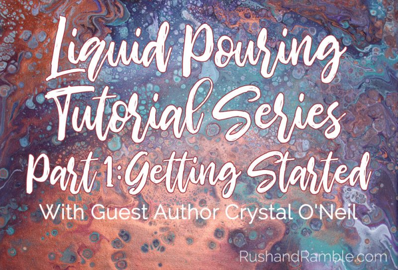 Liquid Pouring Tutorial Series Part 1: Getting Started