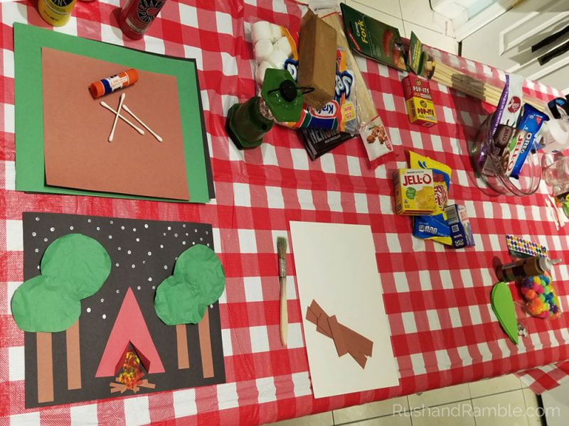 Welcome to Camp Craft Table - Rush & Ramble